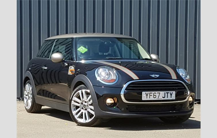 Mini Coupe 2017 1 5 L Petrol Engine With Manual Transmission Hatchback In Black Colour