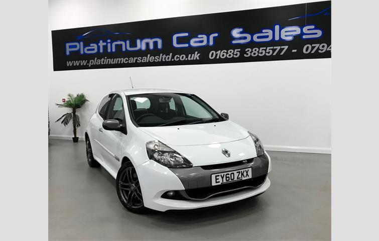 Renault Clio Renaultsport Cup White 2010 6212223