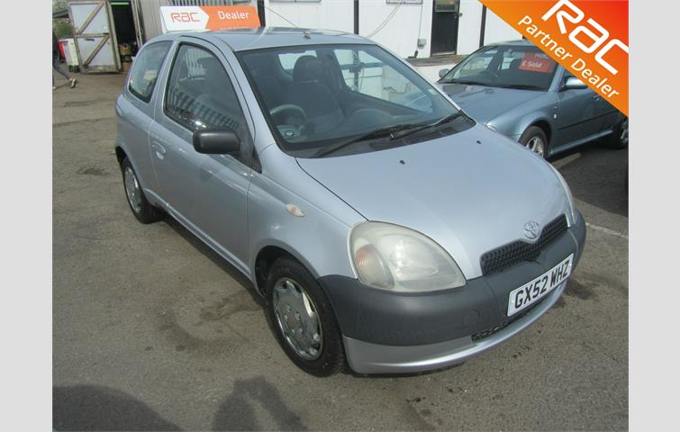 Toyota Yaris Hatch 3Dr 1 0 16v VVTi GS 2002 | Ref: 6496936