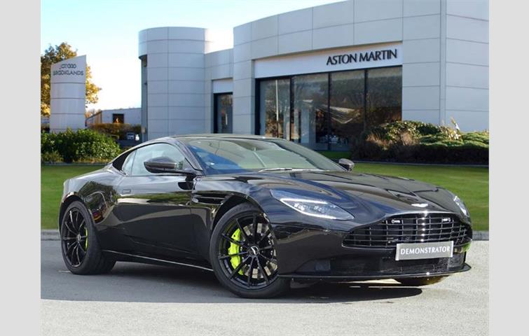 Aston Martin Db11 V12 Twin Turbo 2dr Auto Black 2018 Ref 4744252