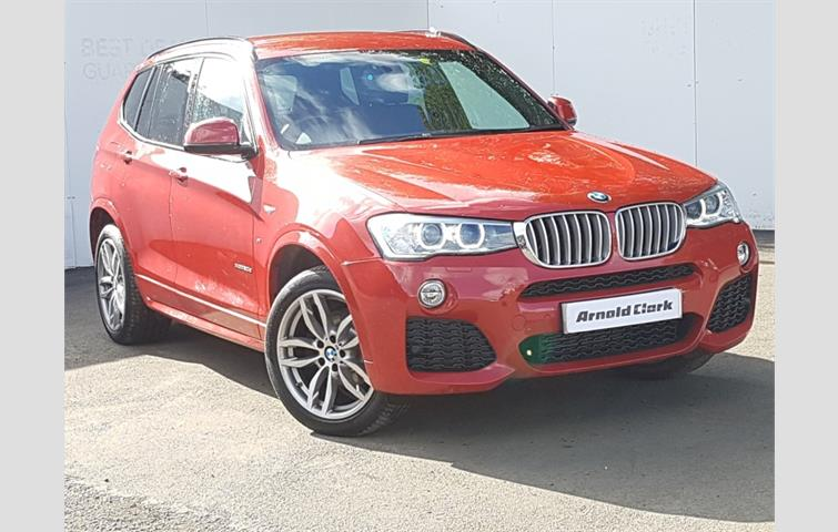 Make BMW Model X3 Colour Red Year 2015
