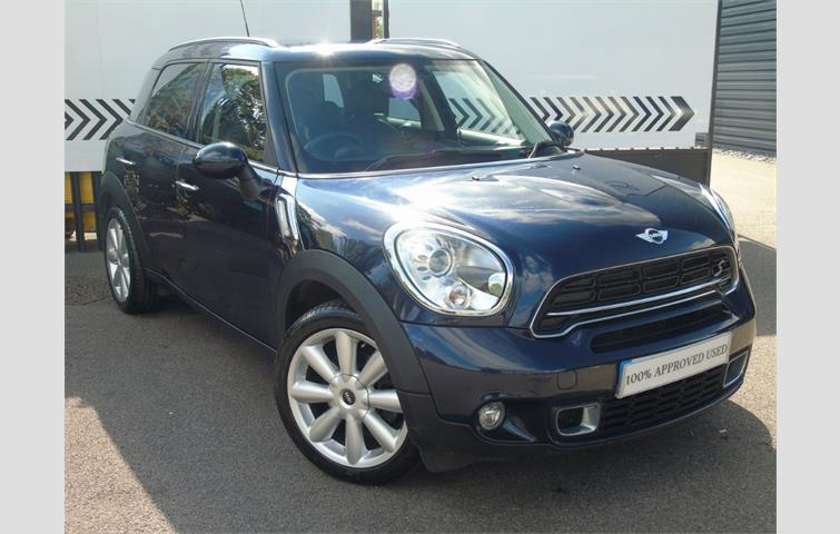 Mini Countryman Mini Cooper Sd Countryman Blue 2016 Ref 6553753