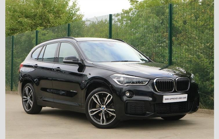 Bmw X1 2017 2 0 L With Automatic Transmission Suv In Black Colour 18 932