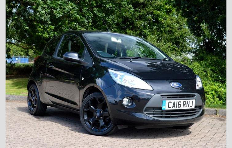 Ford Ka  L With Manual Transmission Hatchback In Black Colour With