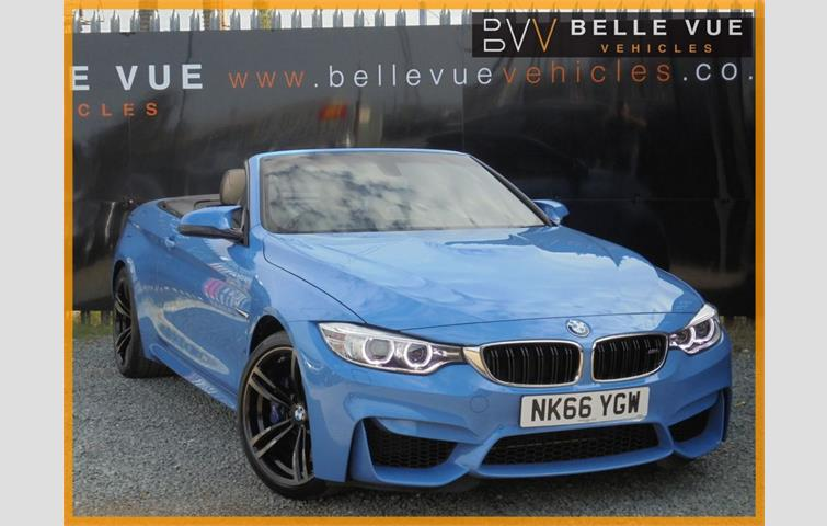 Bmw 4 Series 2016 3 0 L Petrol Engine Convertible In Blue Colour With 12 012