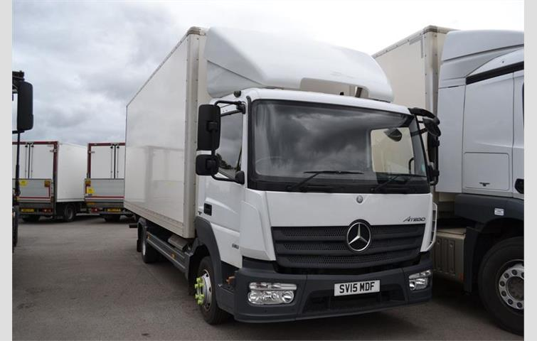 0bfb3c2545 Mercedes ATEGO 816 GRP box with Tuckaway Lift White 2015