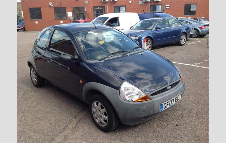 Ford Ka  L Engine With Manual Transmission Hatchback In Blue Colour With