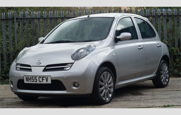 Hedendaags NISSAN MICRA 1.2 SPORT PLUS 5d 80 BHP Silver 2006 | Ref: 6621365 IR-32