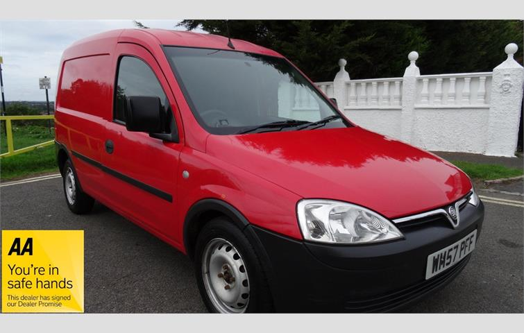 d80d983172 VAUXHALL COMBO 1700 CDTI 12 MONTHS WARRANTY AND MOT Red 2008