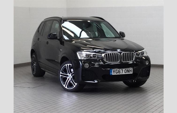 Bmw X3 2017 3 0 L Sel Engine With Automatic Transmission Suv In Black Colour