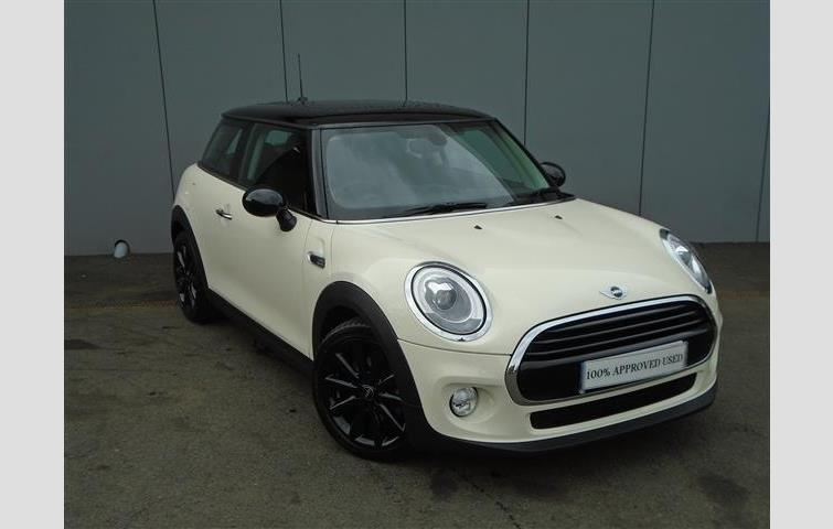 Mini Hatch F56 Mini Cooper D 3dr White 2017 Ref 6638032