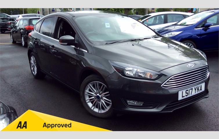Ford Focus 1 0 Ecoboost 125 Zetec Edition Grey 2017 Ref 6641449
