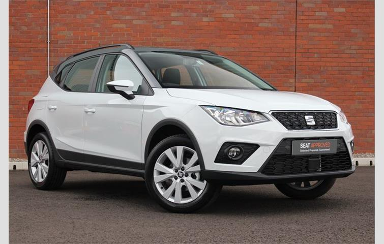 Bad Credit Car Dealers >> SEAT ARONA 1.0 TSI 95 BHP SE TECHNOLOGY White 2018 | Ref: 6643837