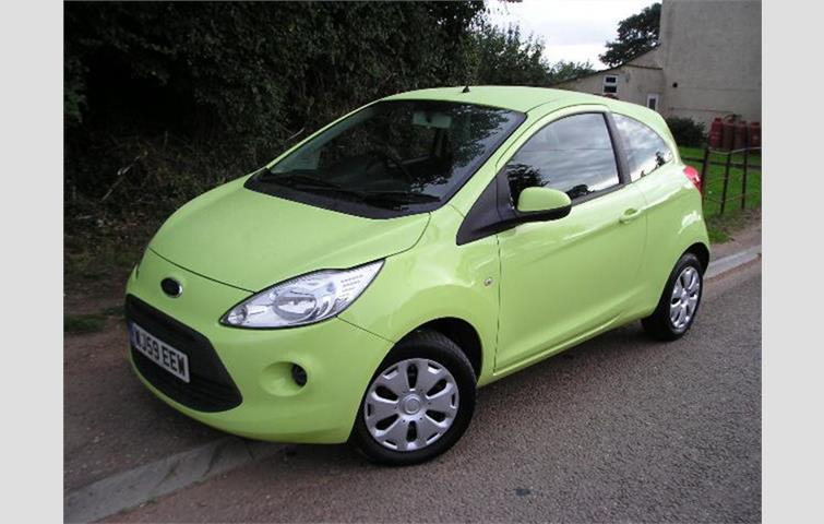 Ford Ka  L Engine With Manual Transmission Hatchback In Green Colour With