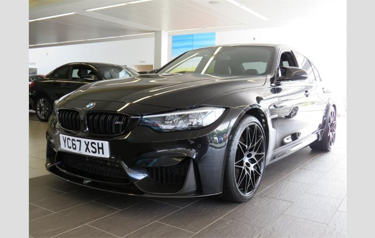 Bmw M3 M3 Saloon Competition Package Black 2017 Ref 6674363