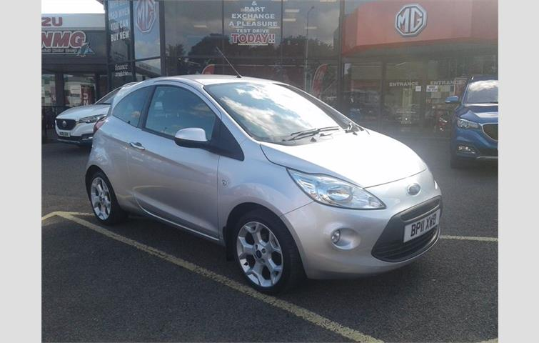 Ford Ka  L Engine With Manual Transmission Hatchback In Silver Colour With