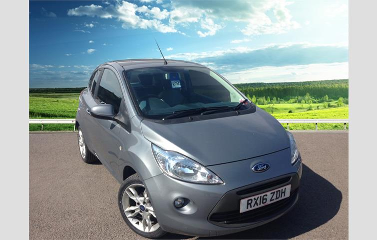Ford Ka Titanium Dr Leather Seats Climate Control Air Conditioning Alloy Wheels