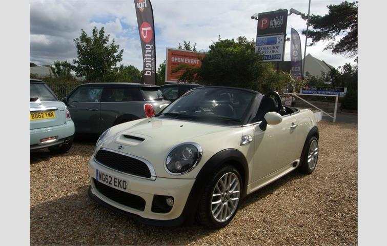 Mini Roadster 16 Cooper S Jcw Style Pack 2dr Manual 6 Speed White