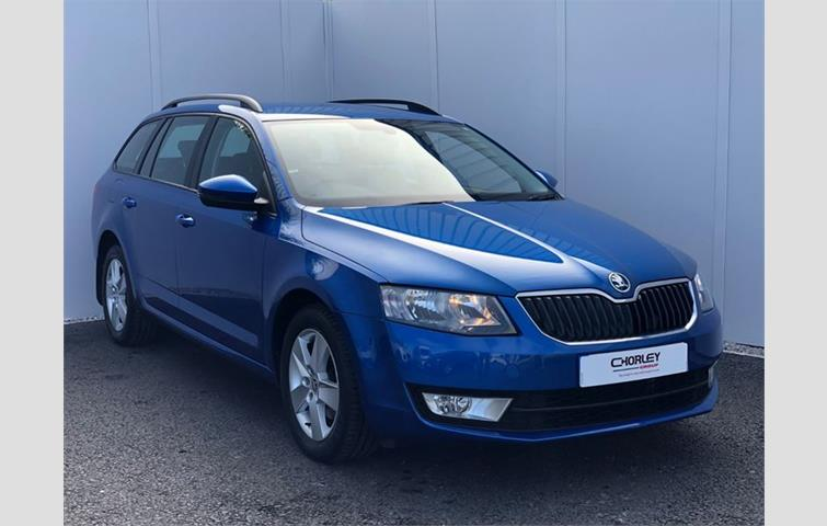 skoda octavia estate 1.6 tdi se l 110ps dsg blue 2016 | ref: 6245562