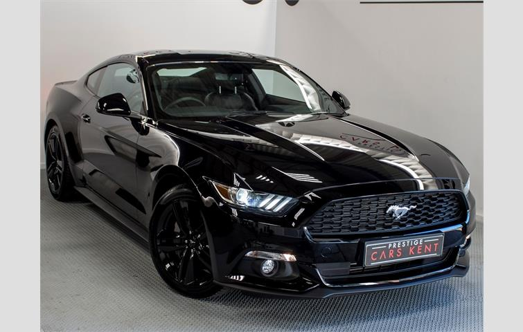 No Credit Check Car Dealers >> Ford MUSTANG 2.3 EcoBoost 2dr Auto Black 2018 | Ref: 6732846