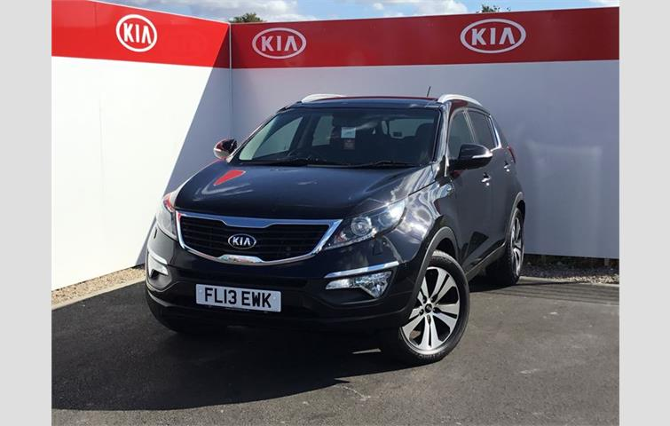Make: Kia, Model: Sportage, Colour: Black, Year: 2013,