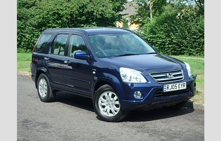 Make: Honda, Model: Cr V, Colour: Blue, Year: Manufacturing Year. 2005.  Miles