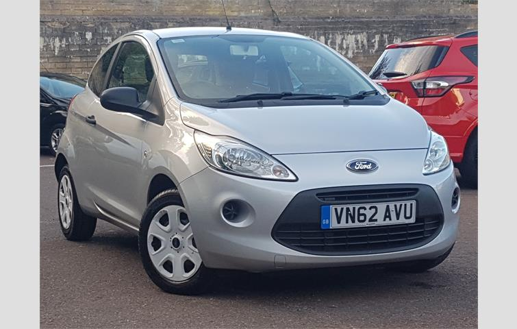 Ford Ka  L Petrol Engine With Manual Transmission Hatchback In Silver Colour