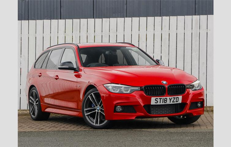 Bmw 3 Series 320d M Sport Shadow Edition 5dr Red 2018 Ref 6951675