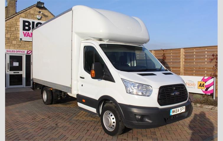 8750764bc1 FORD TRANSIT 350 TDCI 155 L4 LUTON WITH TAIL LIFT DRW RWD ...