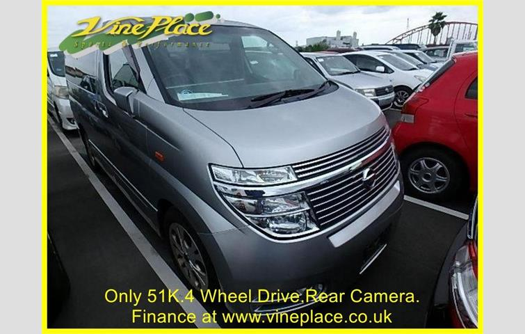 Nissan Elgrand Highway Star 3 5 4wd Automatic 8 Seats Only 51k Silver 2003 Ref 6981305