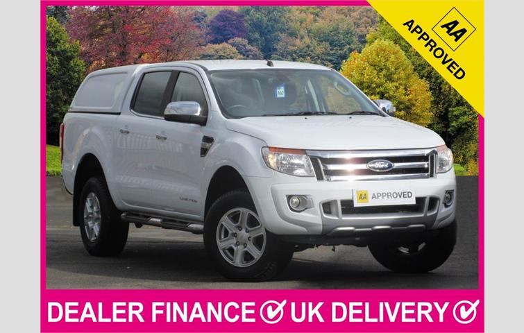 0cbd7506868 FORD RANGER 2.2 TDCI Limited Double Cab Hardtop Canopy 4WD 150 BHP White  2016