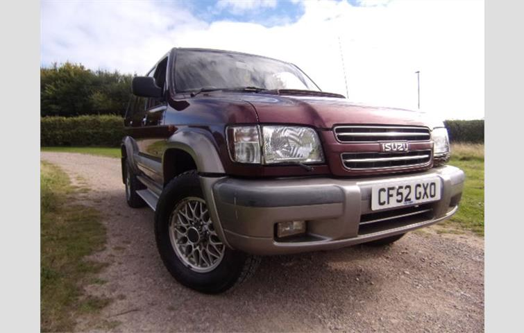 isuzu trooper lwb dt citation 7 str maroon 2002 | ref: 7045772