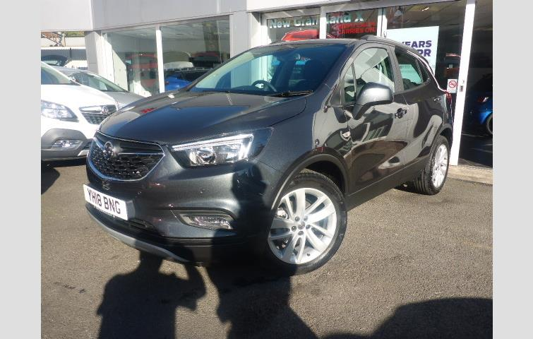 4e83bb0175 Vauxhall Mokka X ACTIVE ECOTEC 1.4 TURBO 140PS S S Grey 2018