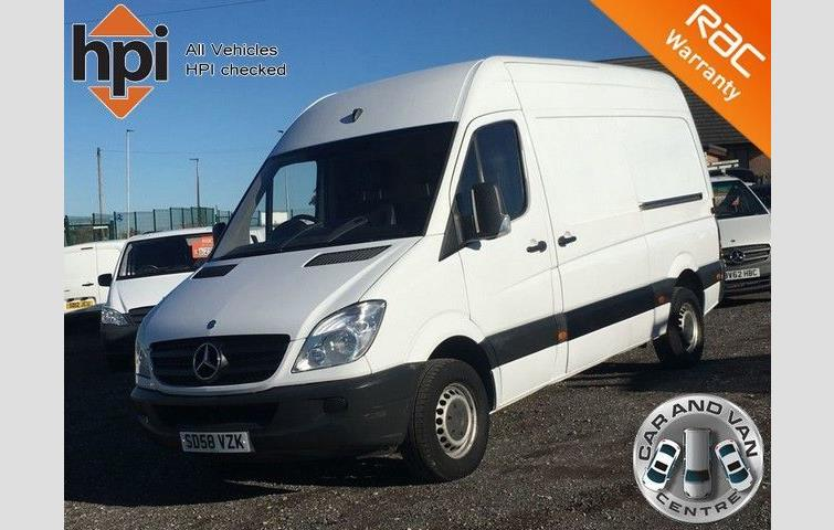 d156efb87c Mercedes SPRINTER 2.1 311 CDI MWB HIGH ROOF White 2008