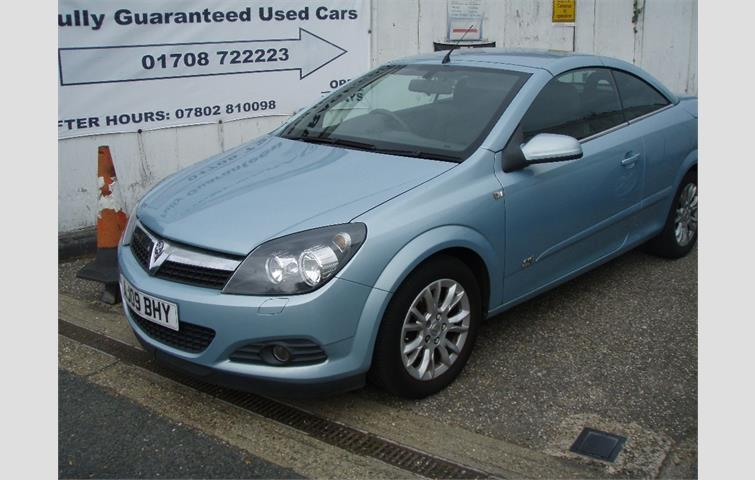 Vauxhall Astra 18 I Sport Twin Top 2dr Silver 2007 5386910