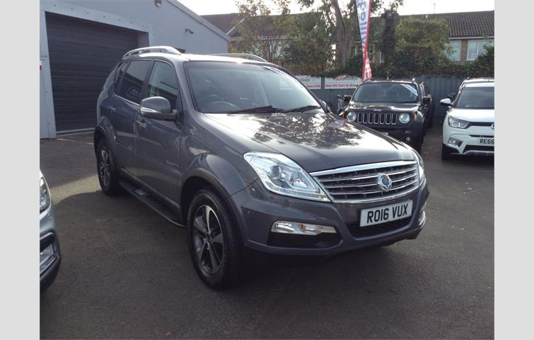 Ssangyong Rexton 2 0 60th Anniversary Edition 5dr Tip Auto Grey 2016 Ref 7103367
