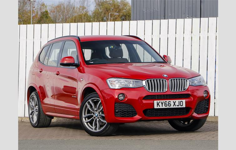 Bmw X3 X3 Xdrive20d M Sport Red 2017 Ref 6582294