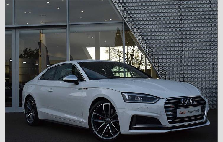2018 audi s5 coupe white
