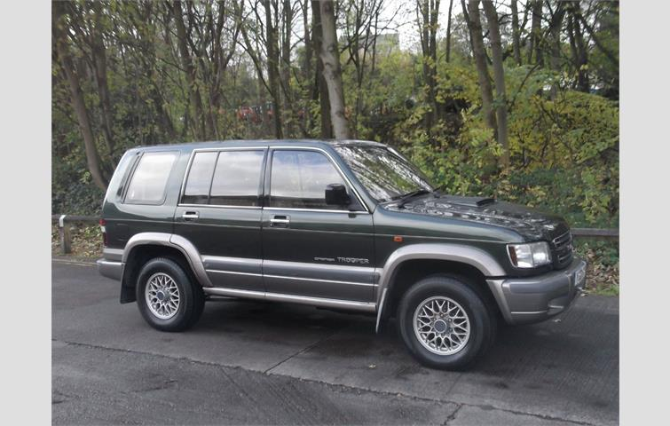 isuzu trooper 3.0 td citation 7 seat 5dr green 2002 | ref: 7180792