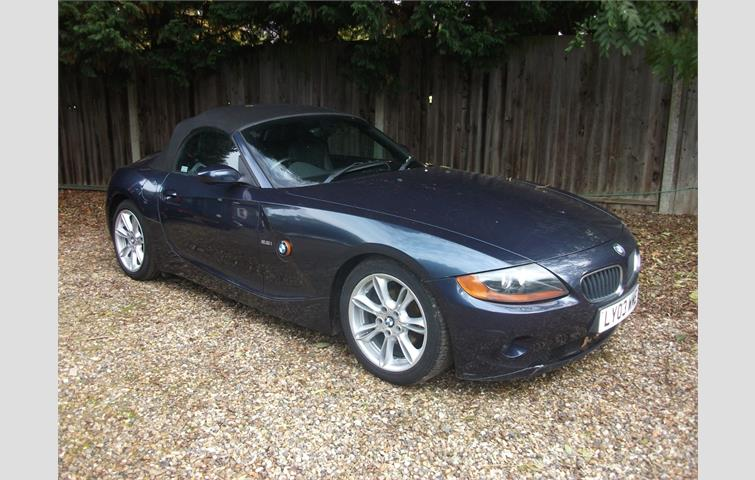 Bmw Z4 22 I Se Roadster 2dr Blue 2005 Ref 5998871