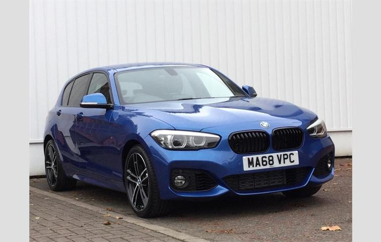 Bmw 1 Series 118i M Sport Shadow Edition 5door Blue 2018 Ref 7190435