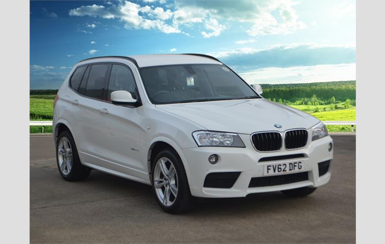 Bmw X3 Xdrive20d M Sport 5dr Step Auto Media Package Business