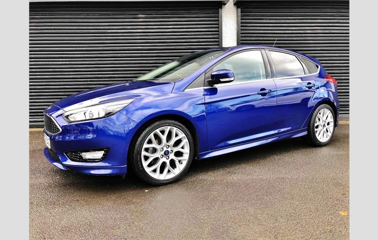 Ford Focus Zetec S 1 5 Tdci Blue 2015 Ref 7213390