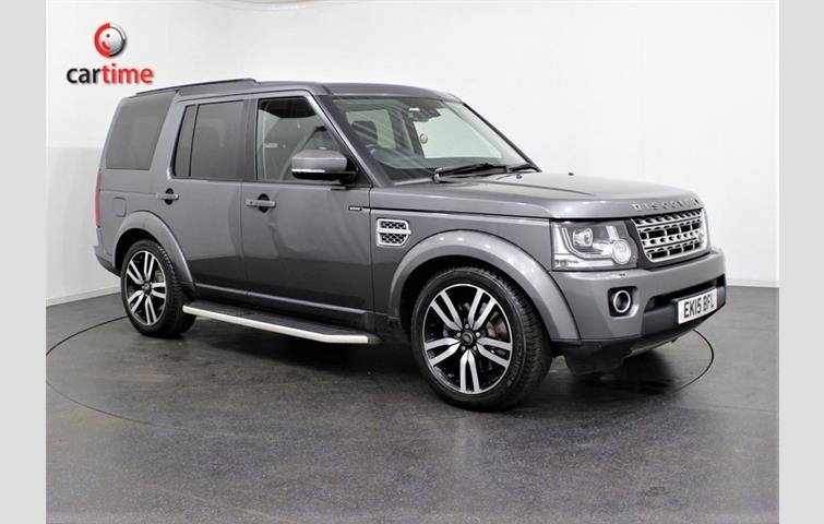 8f6ab2588a1e57 LAND ROVER DISCOVERY 4 SDV6 COMMERCIAL XS UTILITY VEHICLE 4X4 Grey ...