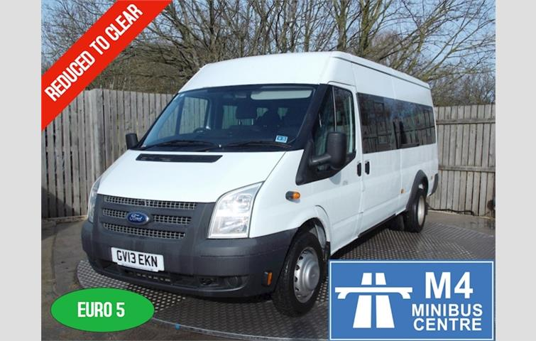 7ae29dbf66 Ford Transit 135ps 17 Seater White 2013