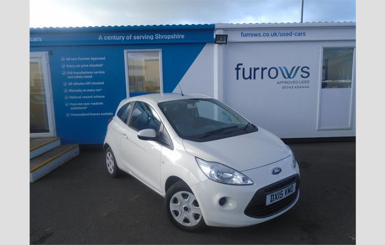 Ford Ka Edge S S Supplied By Us New Ford Service History And Great Value For Money White