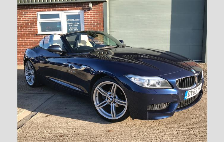 Bmw Z4 Sdrive20i M Sport Roadster Blue 2013 Ref 7282106
