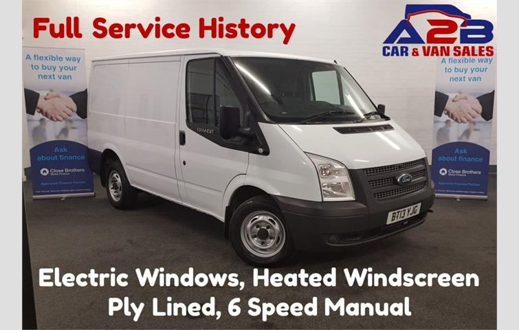 a65839bac79f6e FORD TRANSIT 2.2 100BHP T260 SWB Panel Van with 6 Speed Gearbox ...