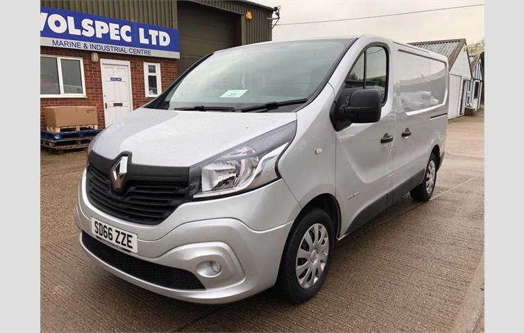0abfefccce RENAULT TRAFIC 1.6 SL27 BUSINESS PLUS DCI 125 BHP  EURO 6  Silver 2016