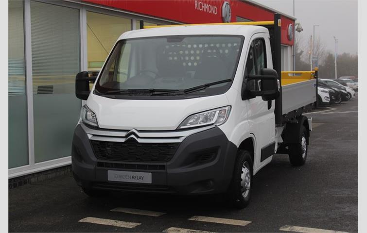 a9e87f3bcb1273 Citroen Relay 35 MWB L2 Tipper Enterprise 130 White 2018
